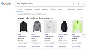 Google-Smart-Shopping-Kampagne